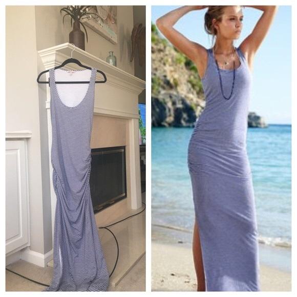 Victoria\'s Secret Dresses | Victorias Secret Striped Maxi Dress ...